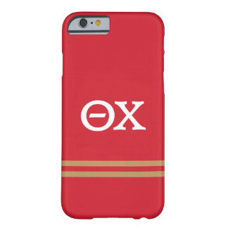Theta Chi | Sport Stripe Barely There iPhone 6 Case