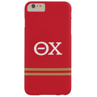 Theta Chi | Sport Stripe Barely There iPhone 6 Plus Case