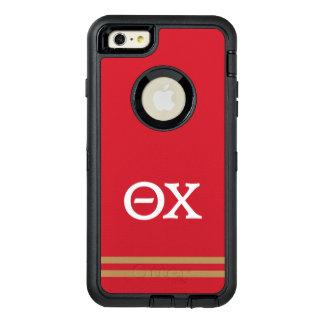 Theta Chi | Sport Stripe OtterBox Defender iPhone Case