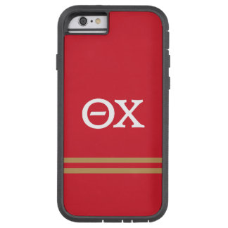 Theta Chi | Sport Stripe Tough Xtreme iPhone 6 Case