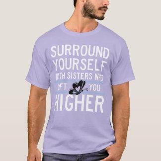"""Theta Nu Xi """"Lift You Higher"""" Unisex Shirt"""