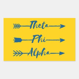 Theta Phi Alpha Arrow Sticker