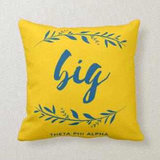 Theta Phi Alpha Big Wreath Throw Pillow