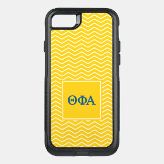 Theta Phi Alpha | Chevron Pattern OtterBox Commuter iPhone 8/7 Case