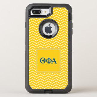 Theta Phi Alpha   Chevron Pattern OtterBox Defender iPhone 7 Plus Case