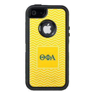 Theta Phi Alpha | Chevron Pattern OtterBox Defender iPhone Case