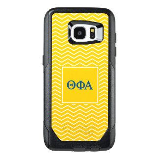 Theta Phi Alpha | Chevron Pattern OtterBox Samsung Galaxy S7 Edge Case