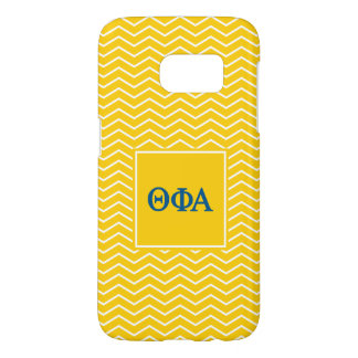 Theta Phi Alpha | Chevron Pattern Samsung Galaxy S7 Case