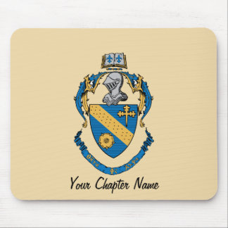 Theta Phi Alpha Coat of Arms Mouse Pad