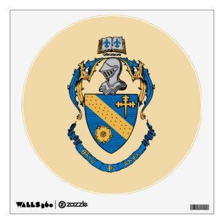 Theta Phi Alpha Coat of Arms Wall Decal