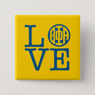 Theta Phi Alpha Love 2 Inch Square Button