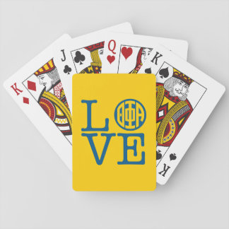 Theta Phi Alpha Love Playing Cards