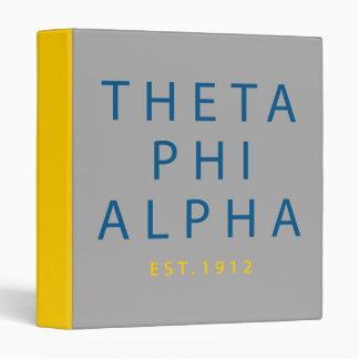 Theta Phi Alpha Modern Type 3 Ring Binder