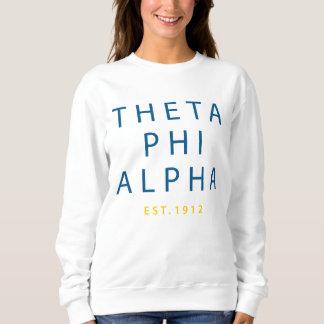 Theta Phi Alpha Modern Type Sweatshirt