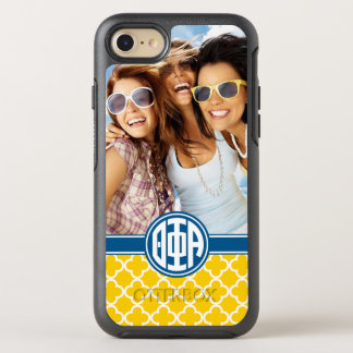 Theta Phi Alpha | Monogram and Photo OtterBox Symmetry iPhone 7 Case