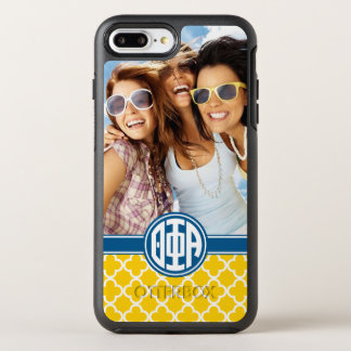 Theta Phi Alpha | Monogram and Photo OtterBox Symmetry iPhone 7 Plus Case