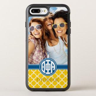 Theta Phi Alpha | Monogram and Photo OtterBox Symmetry iPhone 8 Plus/7 Plus Case