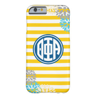 Theta Phi Alpha | Monogram Stripe Pattern Barely There iPhone 6 Case