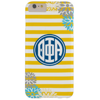 Theta Phi Alpha | Monogram Stripe Pattern Barely There iPhone 6 Plus Case