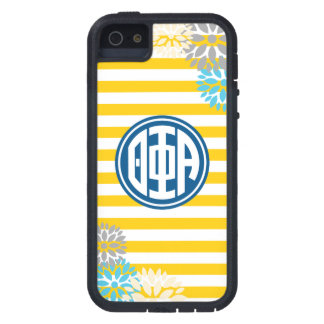 Theta Phi Alpha | Monogram Stripe Pattern iPhone 5 Cases