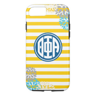 Theta Phi Alpha | Monogram Stripe Pattern iPhone 7 Case