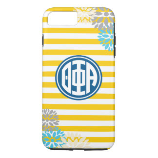 Theta Phi Alpha | Monogram Stripe Pattern iPhone 7 Plus Case