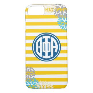 Theta Phi Alpha | Monogram Stripe Pattern iPhone 8/7 Case