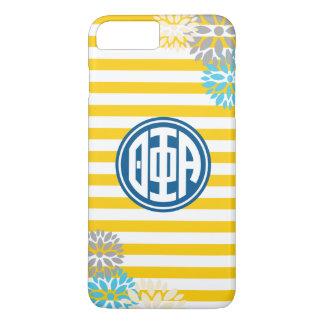 Theta Phi Alpha | Monogram Stripe Pattern iPhone 8 Plus/7 Plus Case