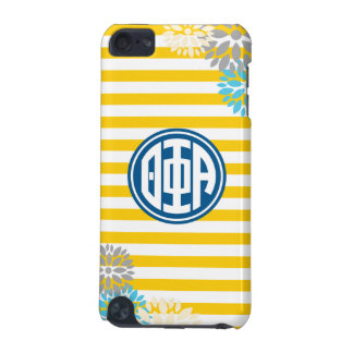 Theta Phi Alpha | Monogram Stripe Pattern iPod Touch (5th Generation) Covers