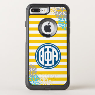 Theta Phi Alpha | Monogram Stripe Pattern OtterBox Commuter iPhone 7 Plus Case
