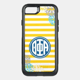 Theta Phi Alpha | Monogram Stripe Pattern OtterBox Commuter iPhone 8/7 Case
