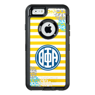 Theta Phi Alpha | Monogram Stripe Pattern OtterBox iPhone 6/6s Case