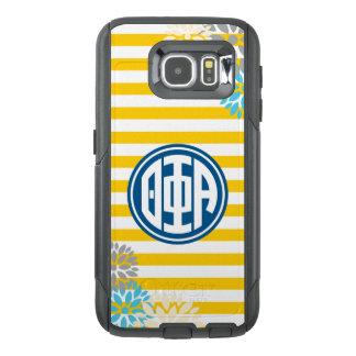 Theta Phi Alpha | Monogram Stripe Pattern OtterBox Samsung Galaxy S6 Case