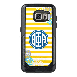 Theta Phi Alpha | Monogram Stripe Pattern OtterBox Samsung Galaxy S7 Case