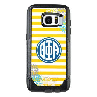 Theta Phi Alpha | Monogram Stripe Pattern OtterBox Samsung Galaxy S7 Edge Case