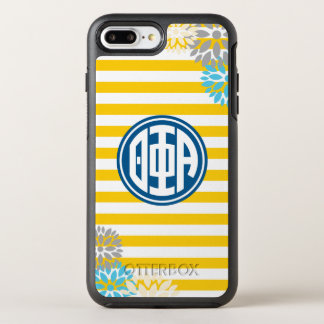Theta Phi Alpha | Monogram Stripe Pattern OtterBox Symmetry iPhone 7 Plus Case