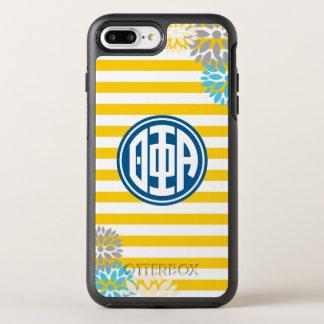 Theta Phi Alpha | Monogram Stripe Pattern OtterBox Symmetry iPhone 8 Plus/7 Plus Case