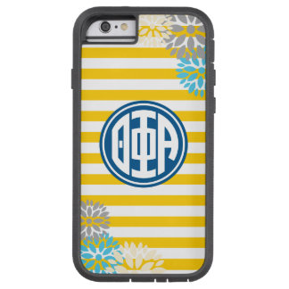 Theta Phi Alpha | Monogram Stripe Pattern Tough Xtreme iPhone 6 Case