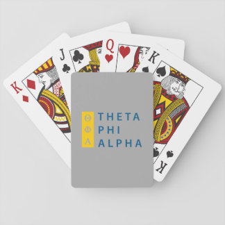 Theta Phi Alpha Stacked Playing Cards