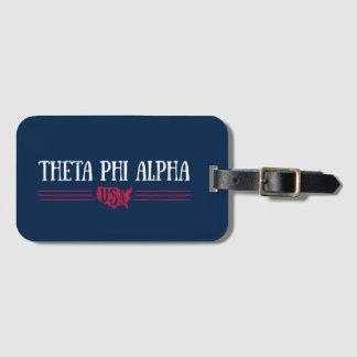 Theta Phi Alpha USA Luggage Tag
