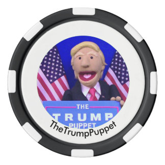 TheTrumpPuppet Clay Poker Chip