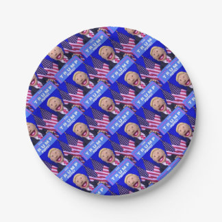 TheTrumpPuppet Party Supplies Paper Plate