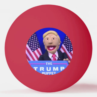 @TheTrumpPuppet Red Ping Pong Ball