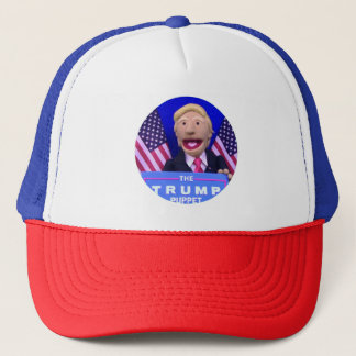 @TheTrumpPuppet Red, White, & Blue Trucker Hat! Trucker Hat