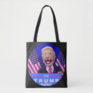 TheTrumpPuppet Style Tote (Black)