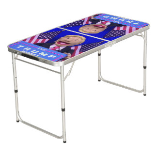 @TheTrumpPuppet Tailgate Size Beer Pong Table