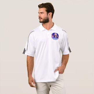 @TheTrumpPuppet White Golf Shirt