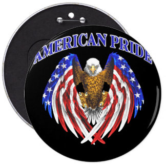 they american pride 6 inch round button