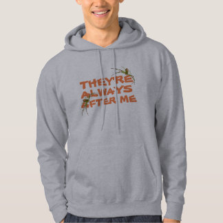 They are always after me (spiders) T-shirt hoodie