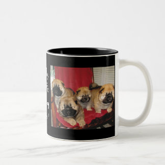 They Call it Puppy Love Two-Tone Coffee Mug